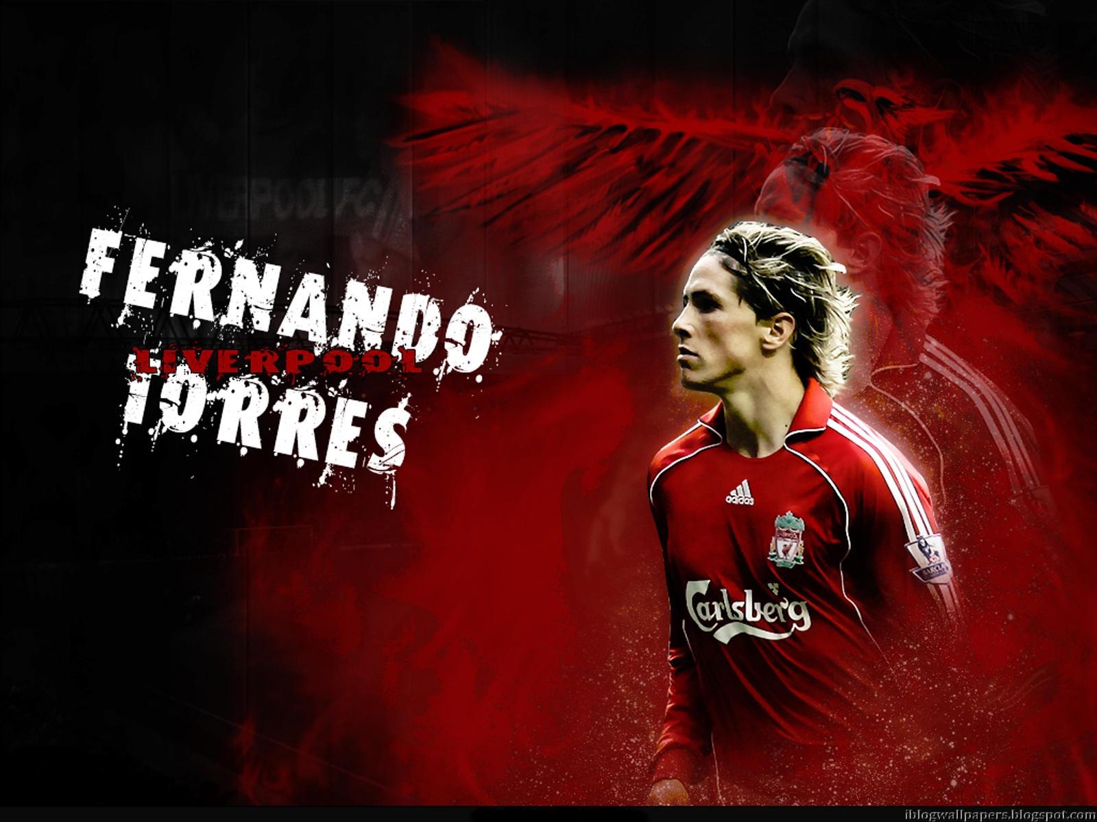 Fernando Torres Liverpool Wallpaper HD Download Wallpaper 1600x1200