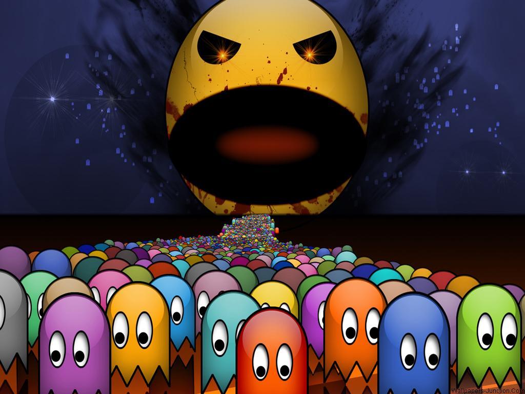Pac Man Wallpapers 1024x768