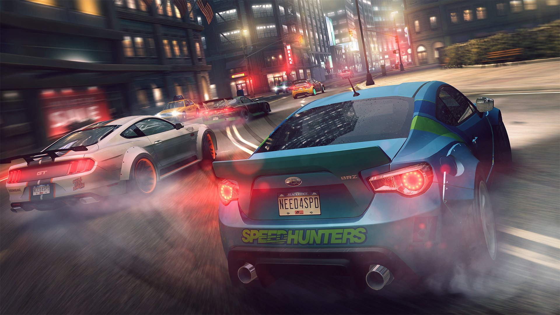 10 Need For Speed No Limits HD Wallpapers Background Images 1920x1080