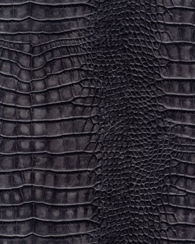 Galerie Natural Faux Feature Wallpaper Alligator Skin Dark Grey SD102 400x500