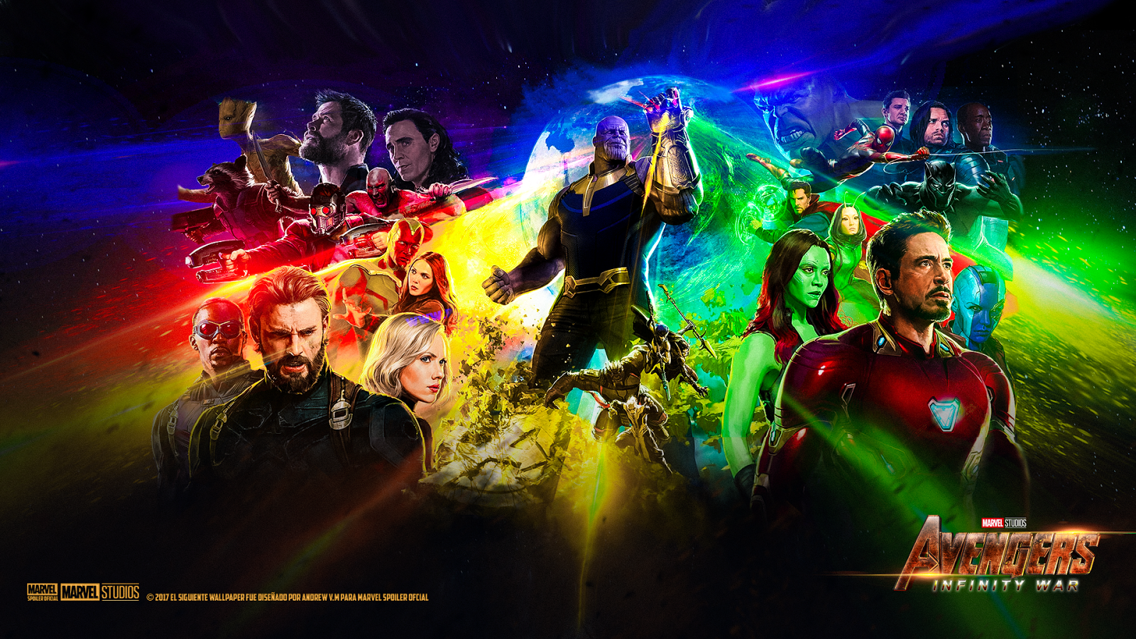 89 Avengers Infinity War Movie Wallpapers On Wallpapersafari