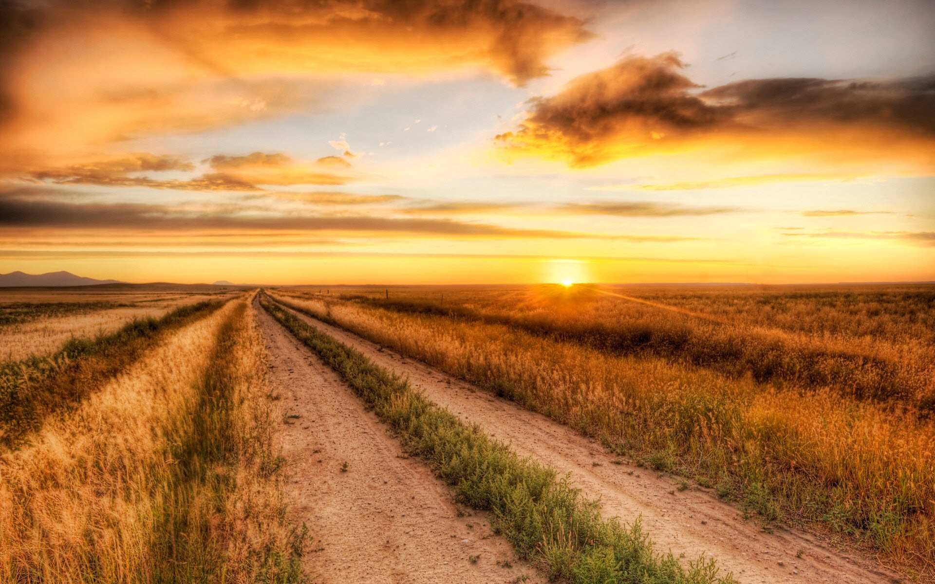 Country road 1920 x 1200 Sunriseandsunset Photography MIRIADNA 1920x1200