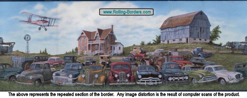 Rolling Borderscom   Automotive Wallpaper Borders 800x320