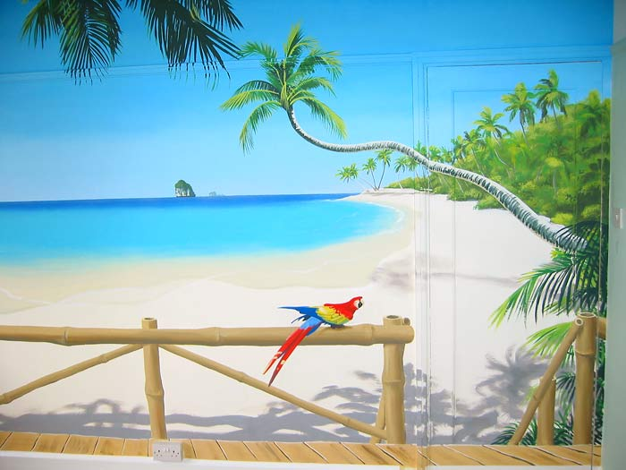 Wallpaper murals tropical beach   Just for Sharing 700x525