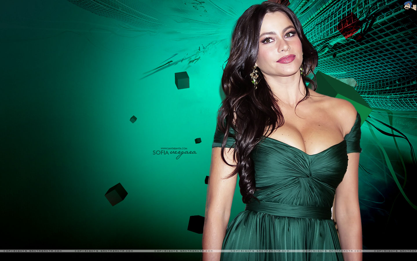 HD Wallpapers Sofia Vergara high quality and definition 1440x900
