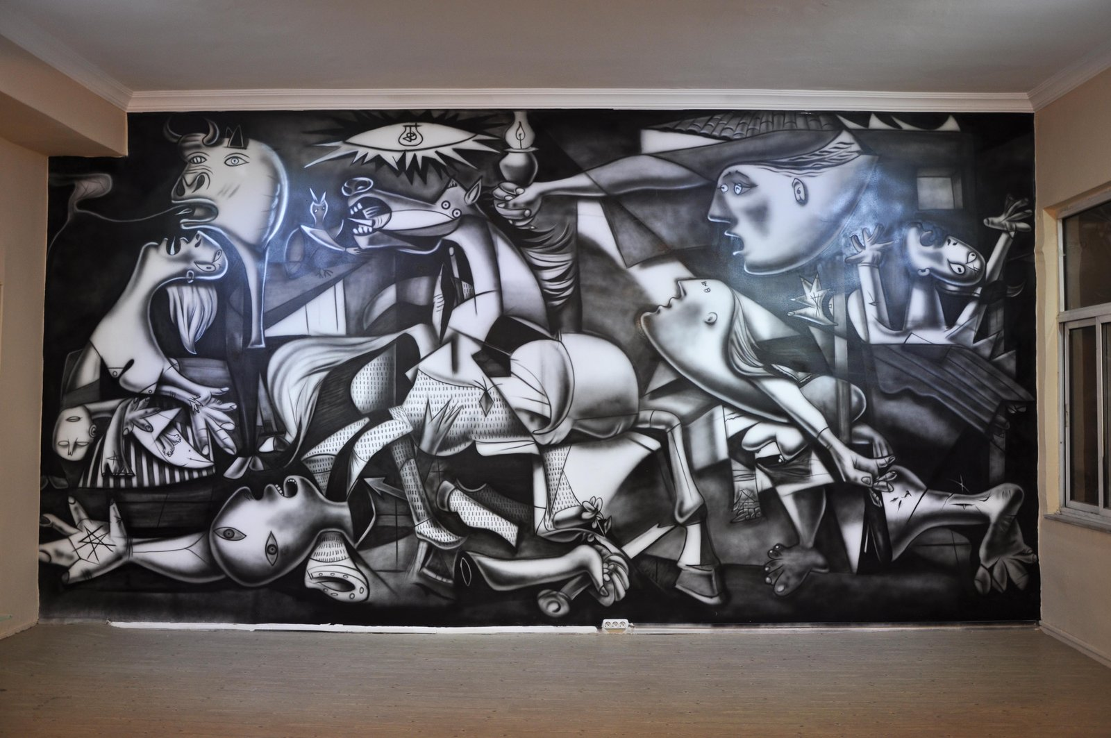 picasso guernica from my sytle by great master 1600x1063