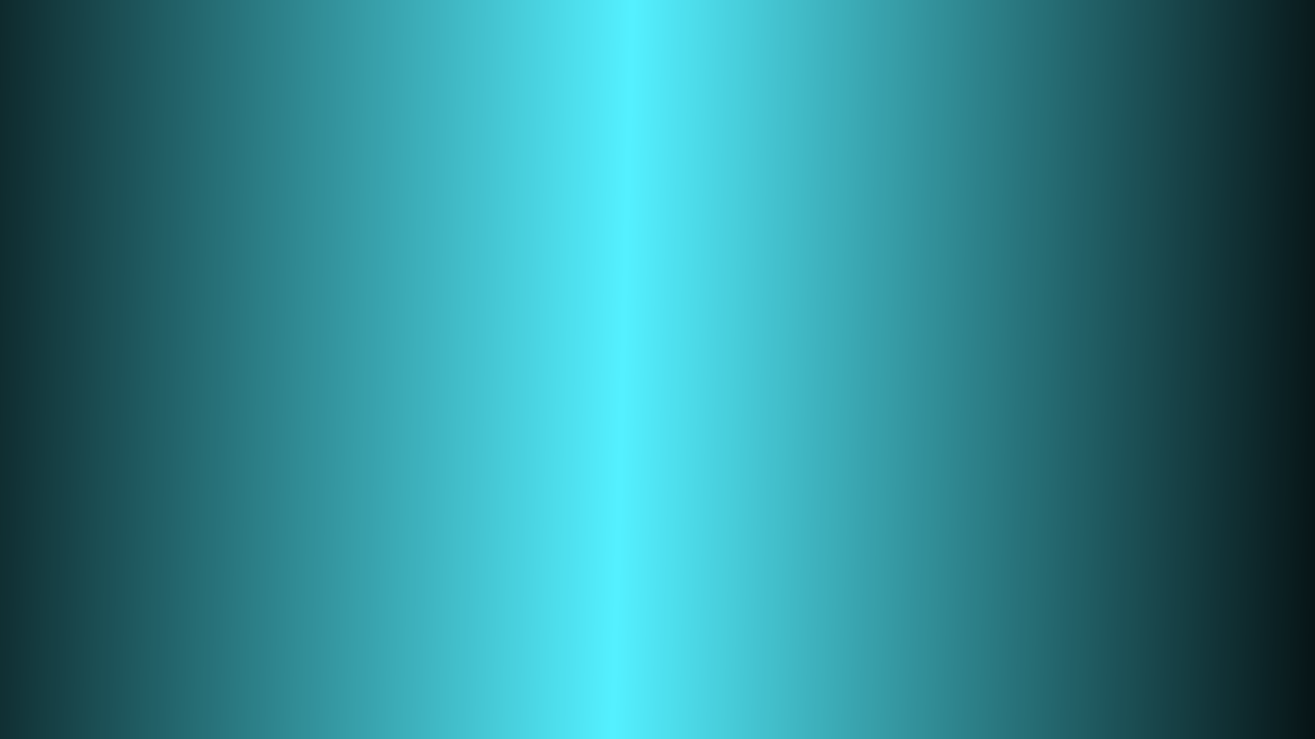 201201Sky Blue and Black Central Gradient Desktop Wallpaperpng 1920x1080