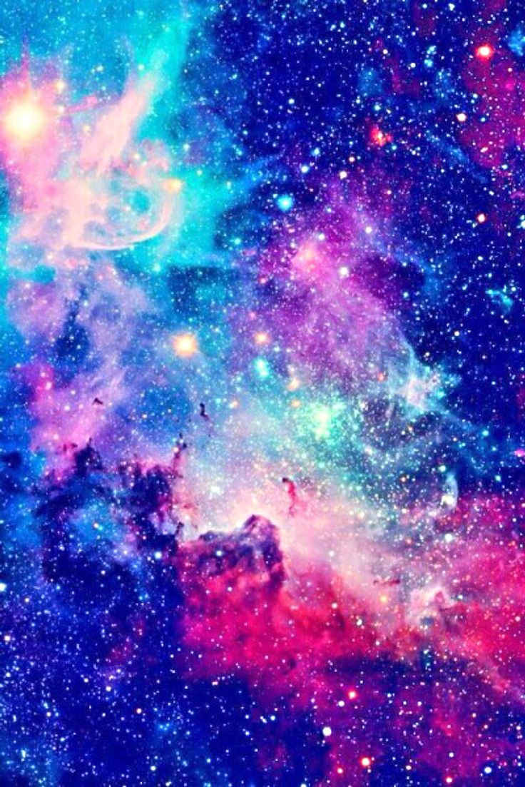 Iphone 5 5s 6 or 6 wallpaper Galaxy aesthetic tumblr blue 736x1103