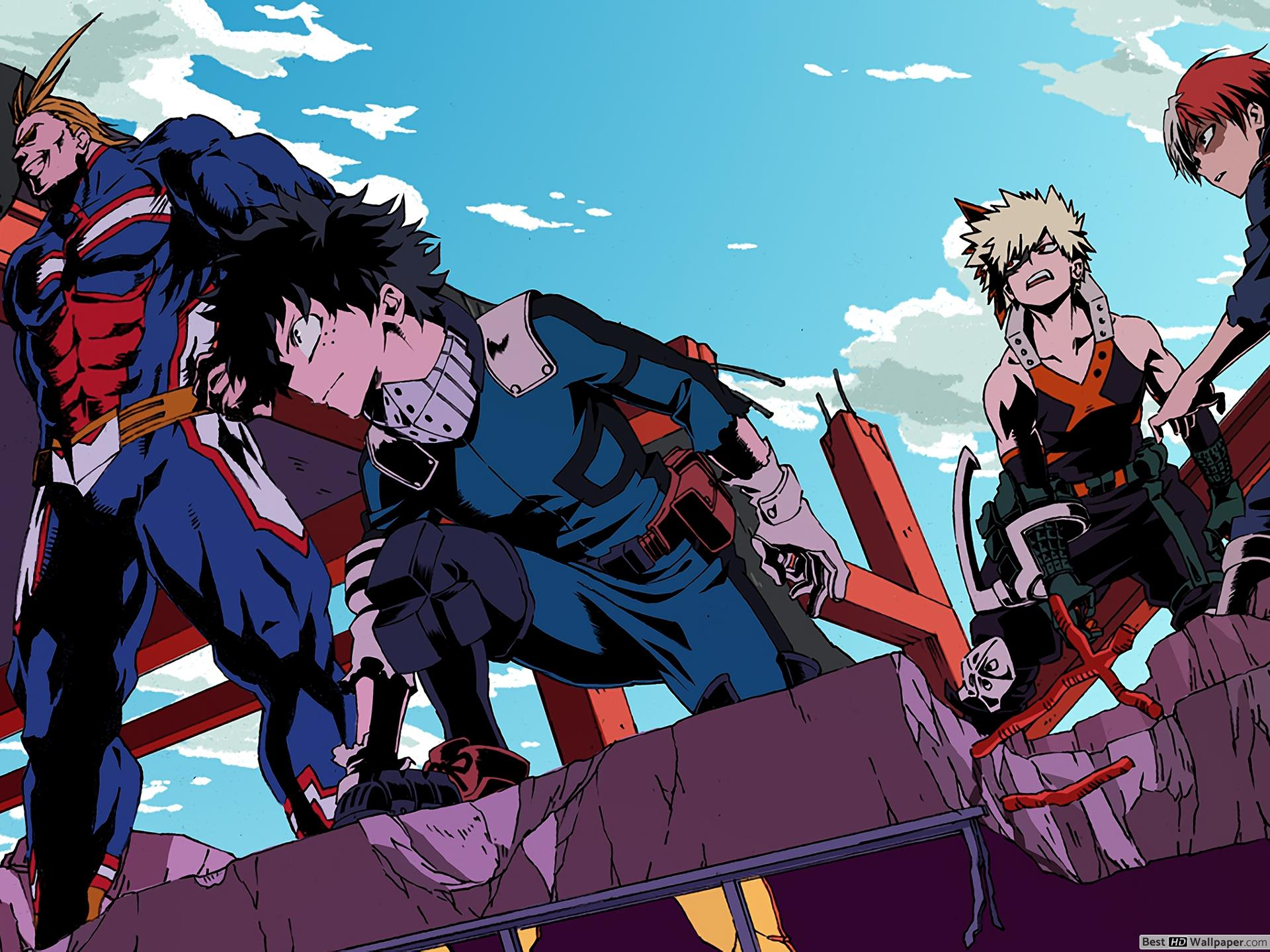 Aesthetic My Hero Academia Wallpapers   Top Aesthetic My Hero 1920x1440