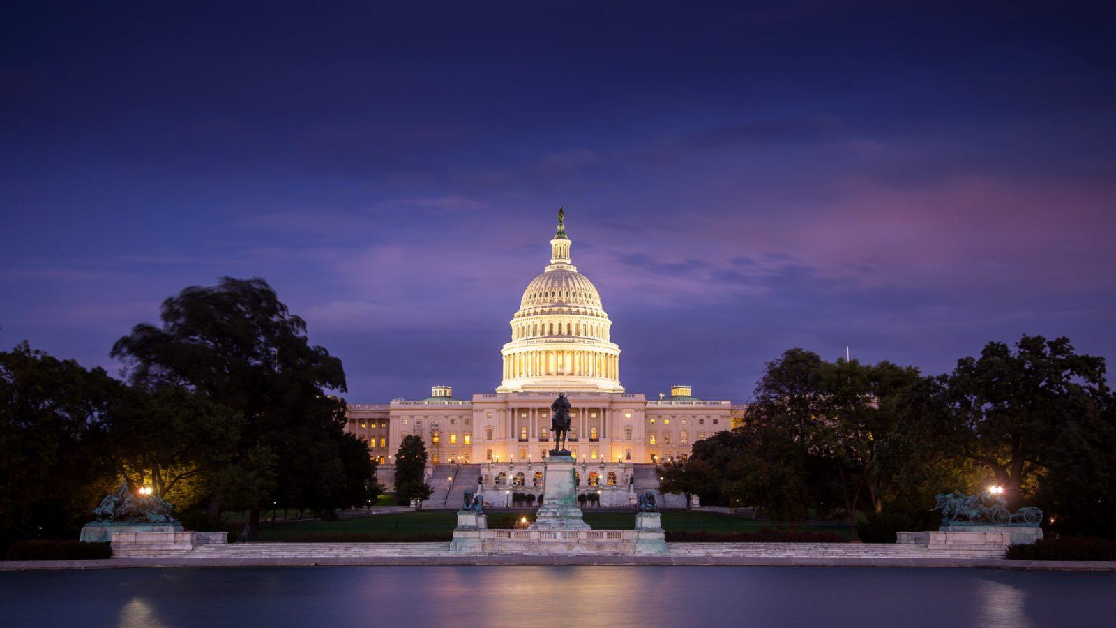 US Capitol Video Bing Wallpaper Download 1600x900