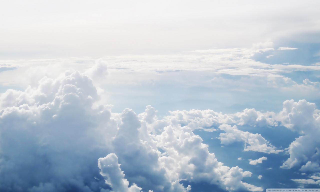 HD Clouds Background HD Wallpapers Pulse 1280x768