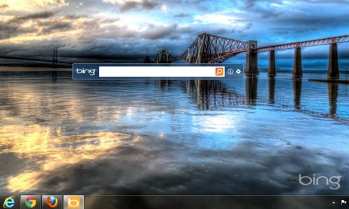 opt in to change Desktop wallpaper with the Bing Image of the day 500x300