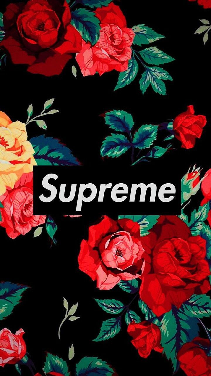 47 Supreme Floral Iphone Wallpaper On Wallpapersafari