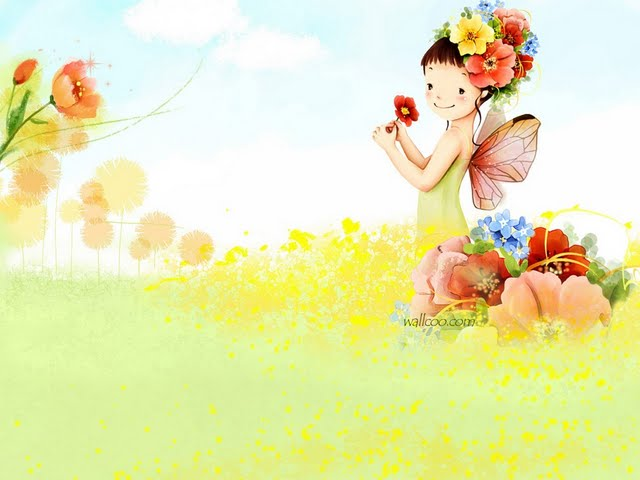 cute spring wallpaper 640x480