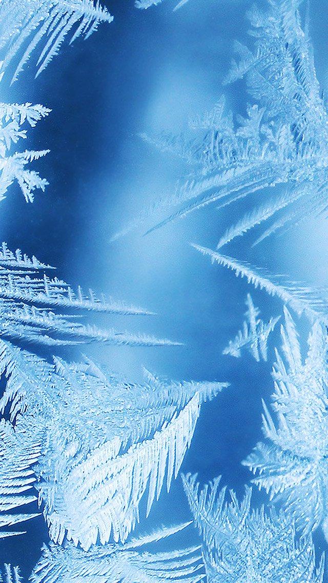 FREEIOS7 frozen windows   parallax HD iPhone iPad wallpaper 640x1136