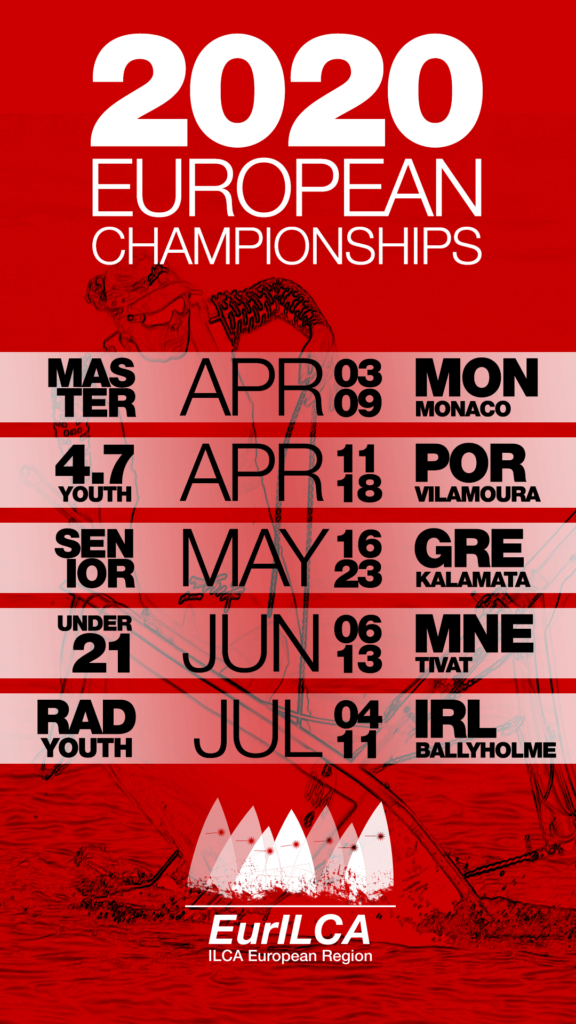 2020 Laser European Championships Mobile Wallpaper 576x1024