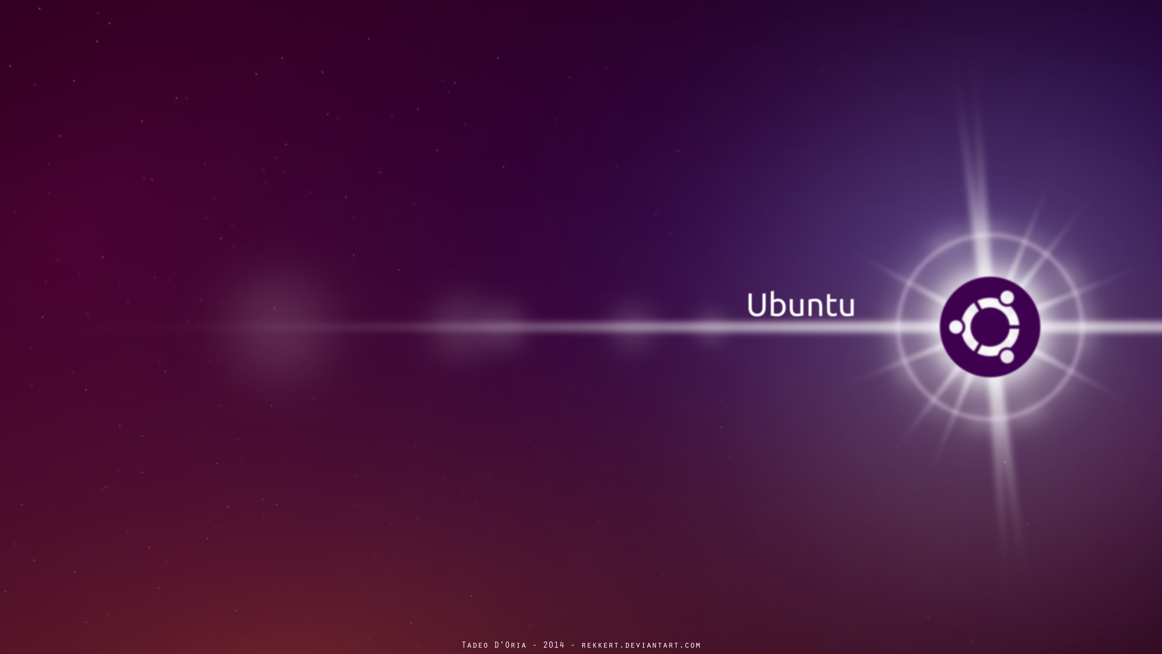 Ubuntu Wallpaper by Rekkert 3840x2160