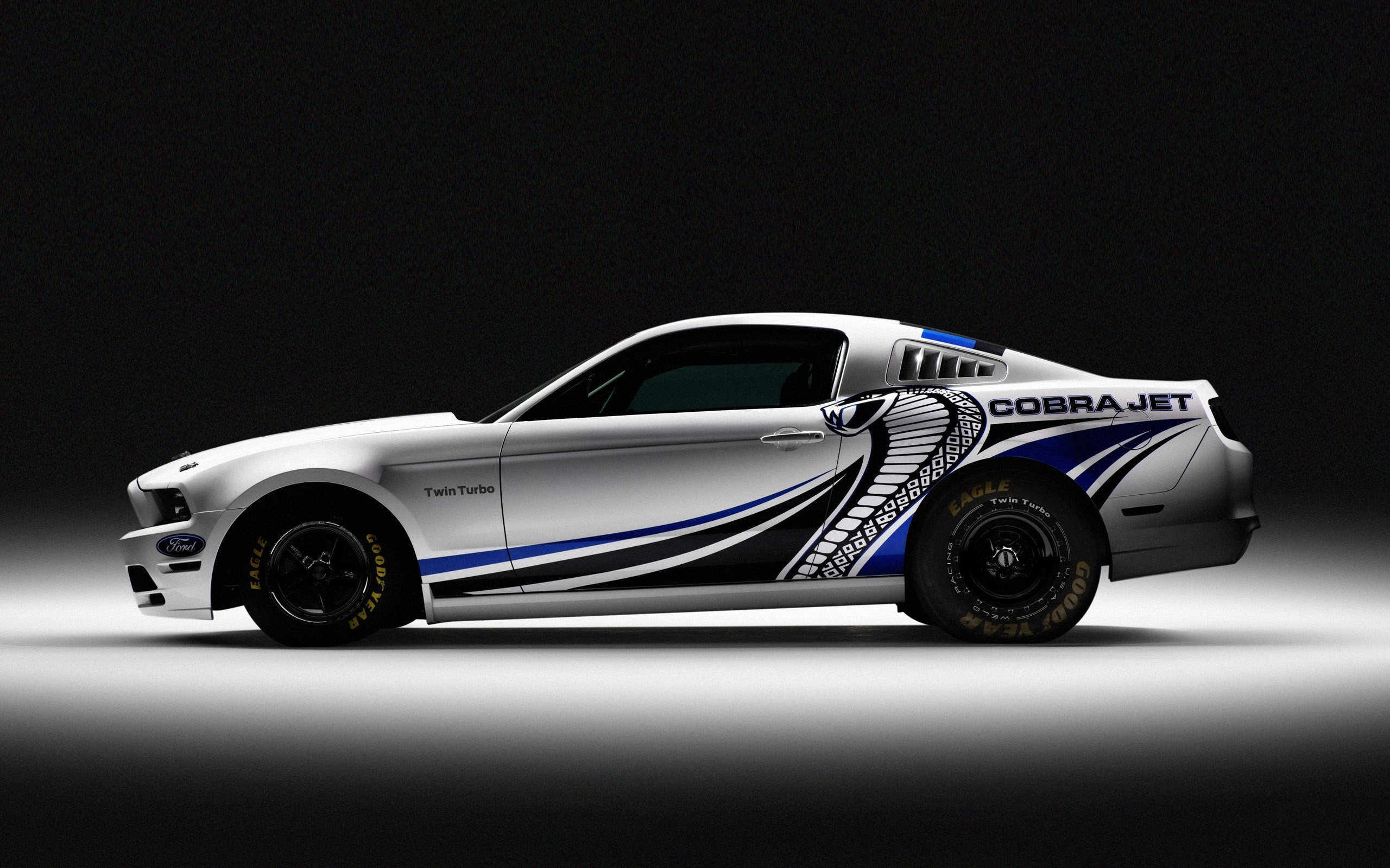 Ford Mustang Cobra Turbo Auto   Stock Photos Images HD 2560x1600