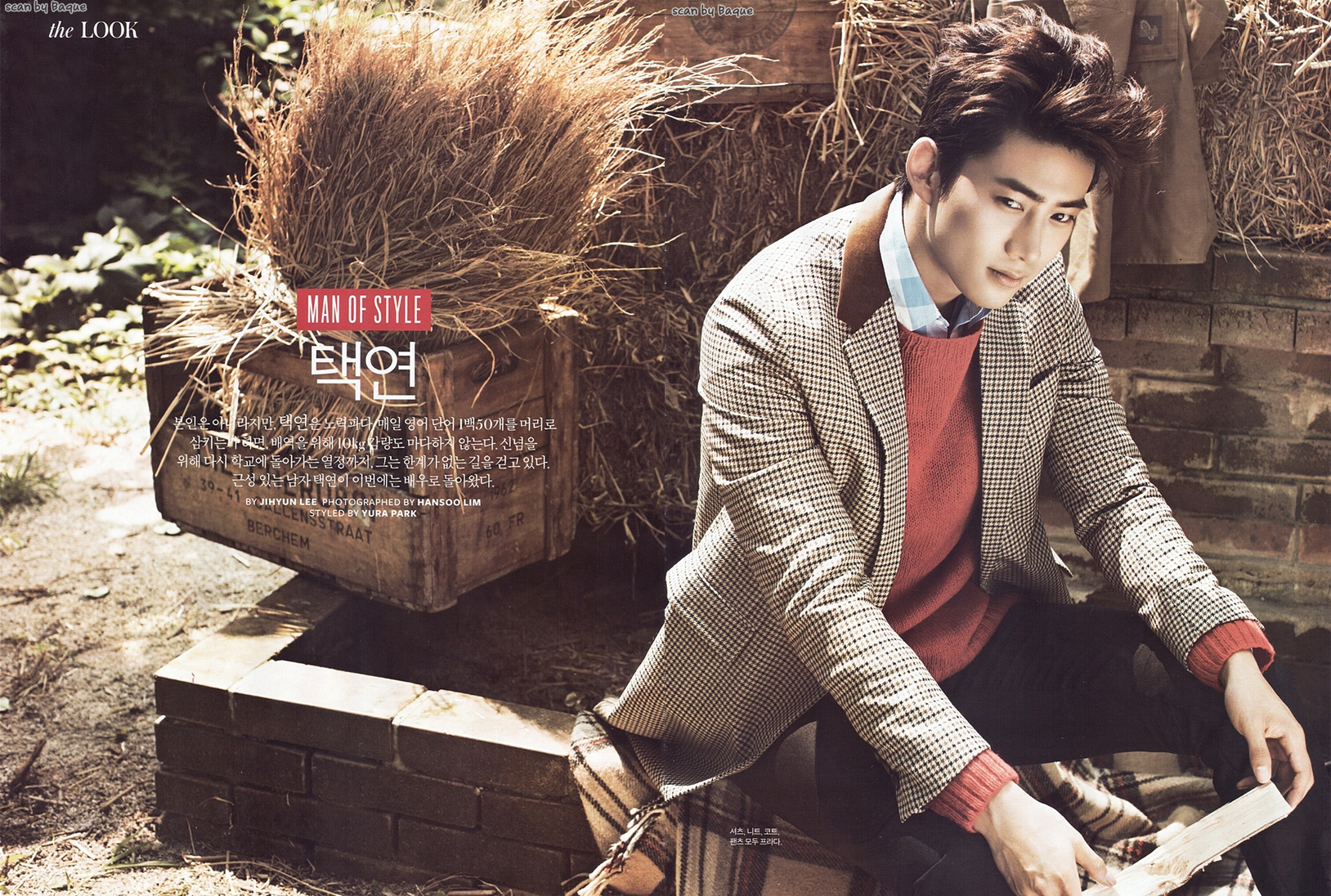 PICS][SCANS] Taecyeon for InStyle Magazine TAECYEON INDONESIA 1628x1096