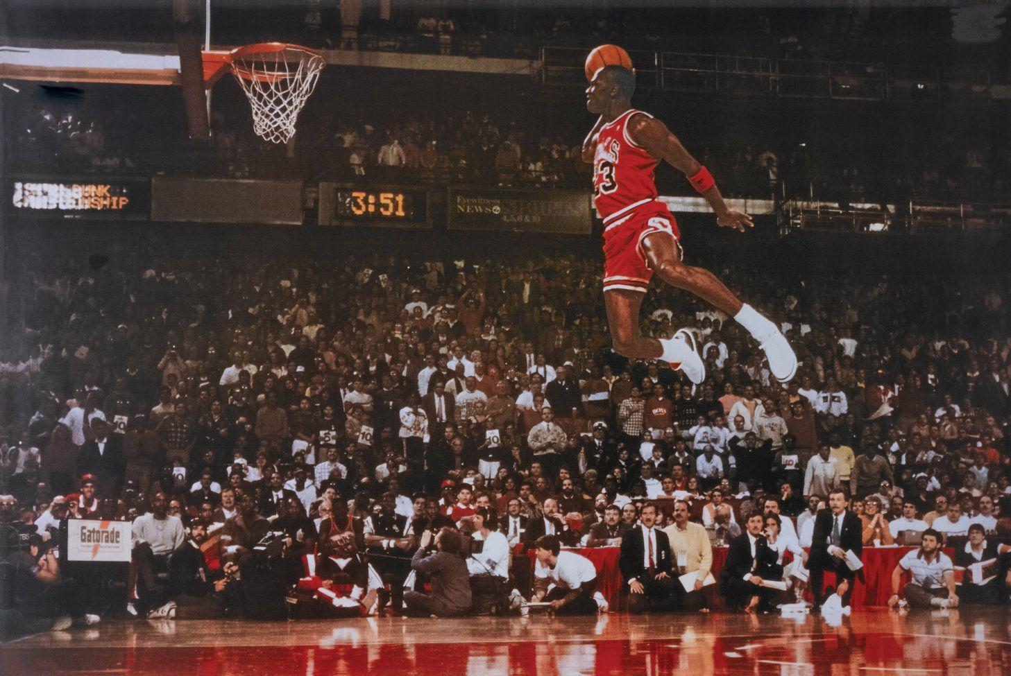Michael Jordan Dunk Wallpapers 1457x975