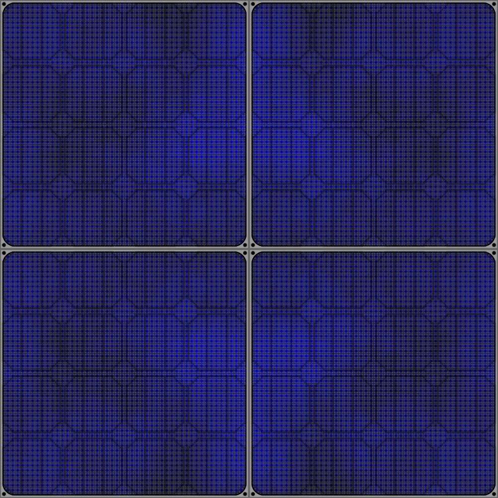 solar panel texture by qbicle 1002x1002