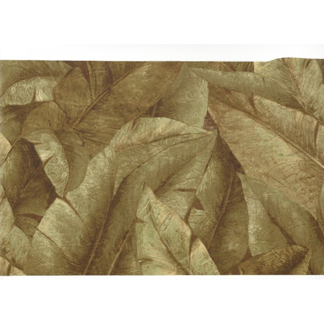 Tropical Green Banana Leaves Wallpaper   All 4 Walls Wallpaper 650x650