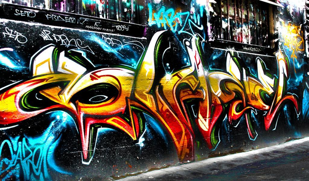 Hip Hop Graffiti Wallpapers 1024x600