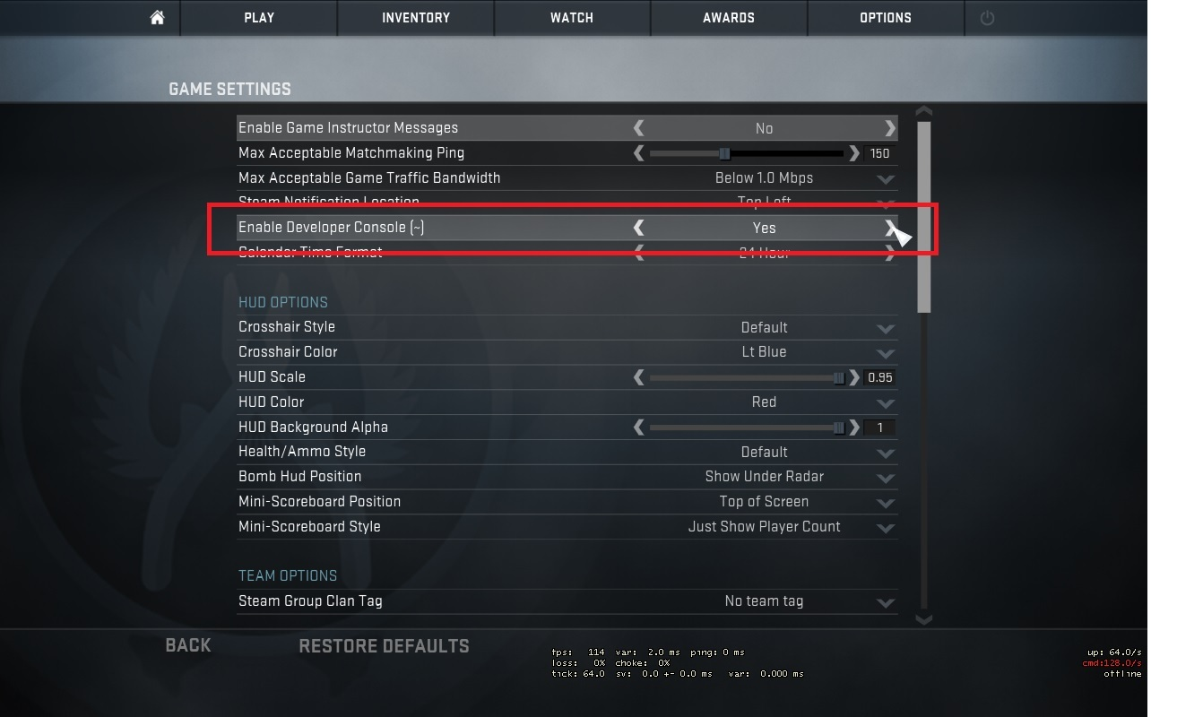 CS GO mouse and video settings Increasing your CS GO gameplay 1313x800