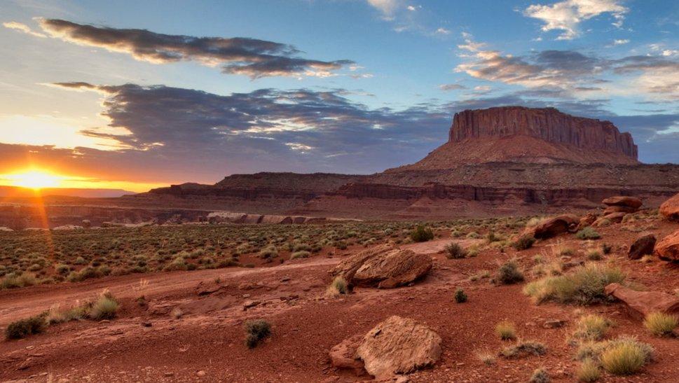 sunset at canyonlands wallpaper   ForWallpapercom 969x547