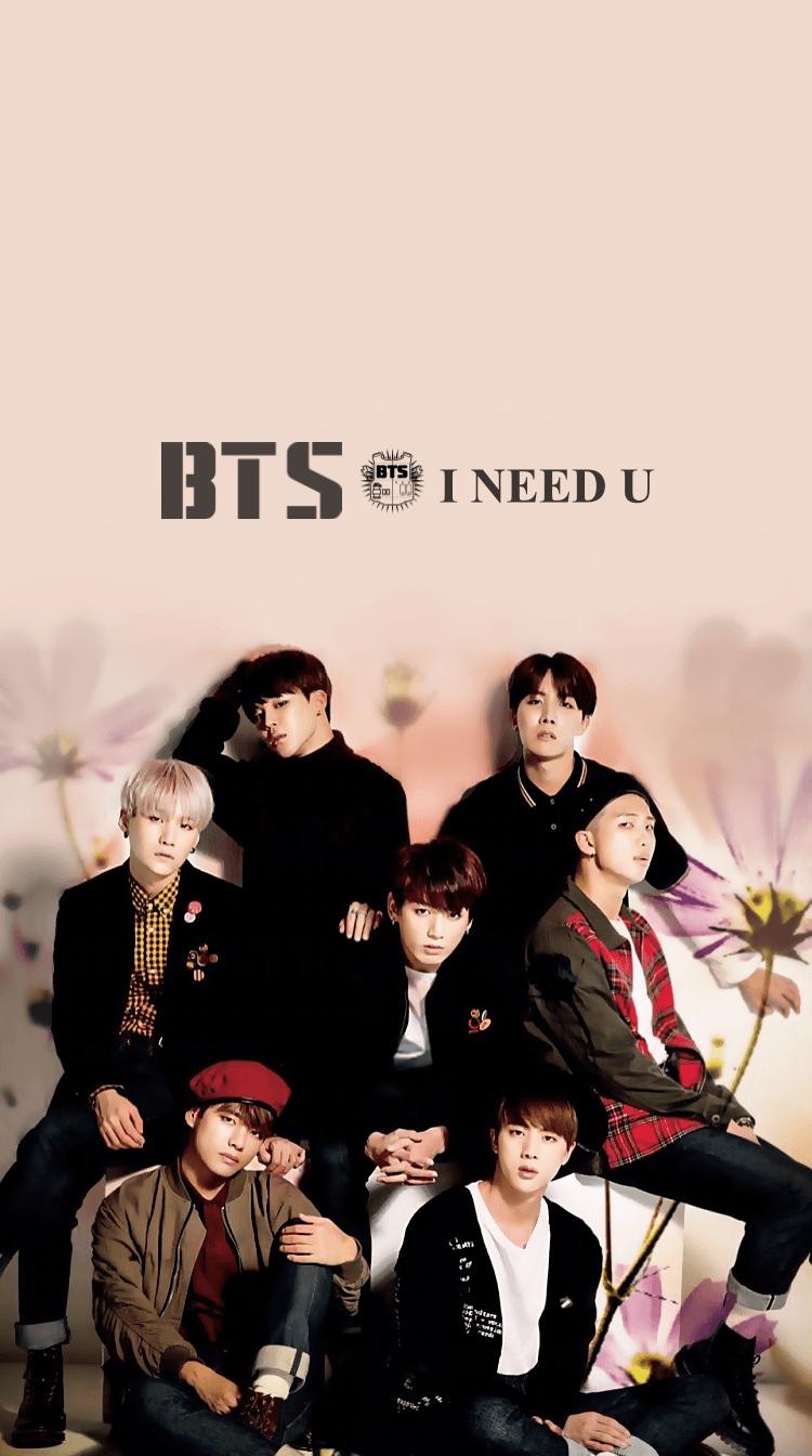 I Need U BTS Wallpapers   Top I Need U BTS Backgrounds 750x1344
