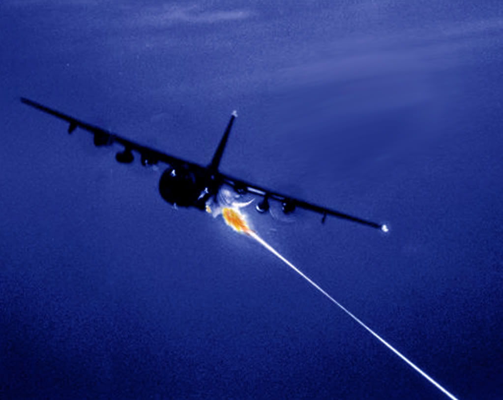night shot of the AC 130 Spectre Gunship 1023x813