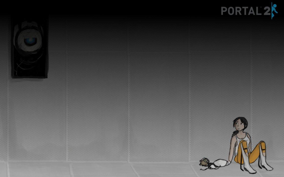 Portal 2 Wallpaper by Super Cute 1131x707