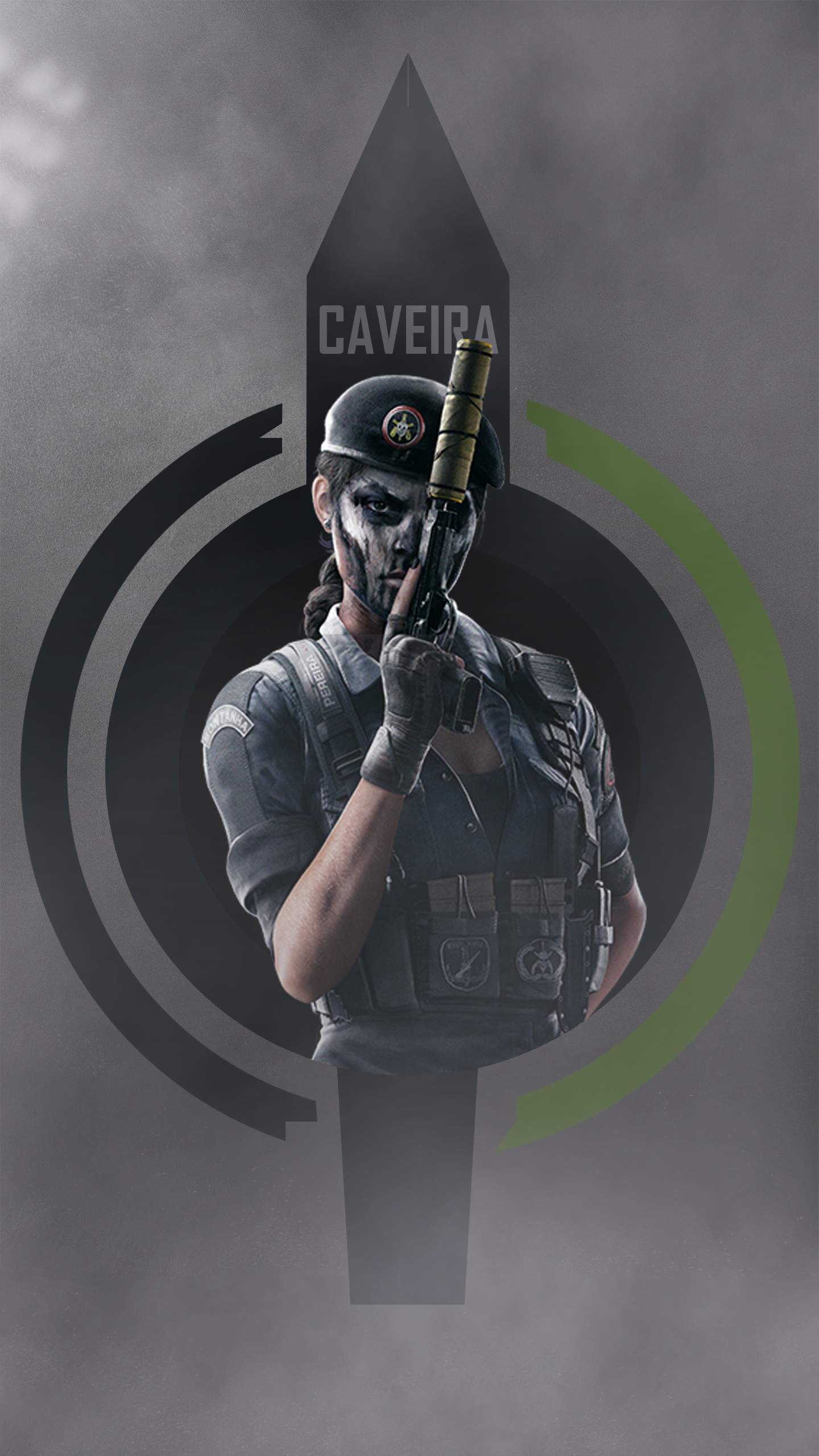 Free Download Where Are They Caveira Phone Wallpaper 2k Rainbow6
