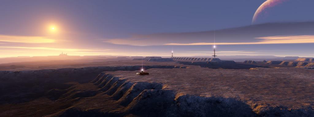 Free Download Alien Landscape Wallpaper Alien Landscape