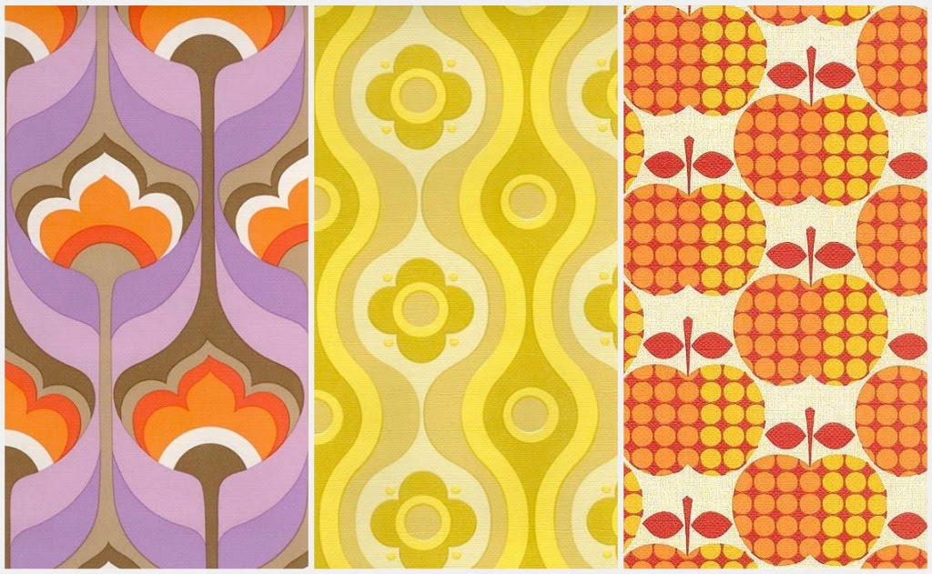 1970s Wallpaper Patterns Retro wallpaper patterns 1024x631