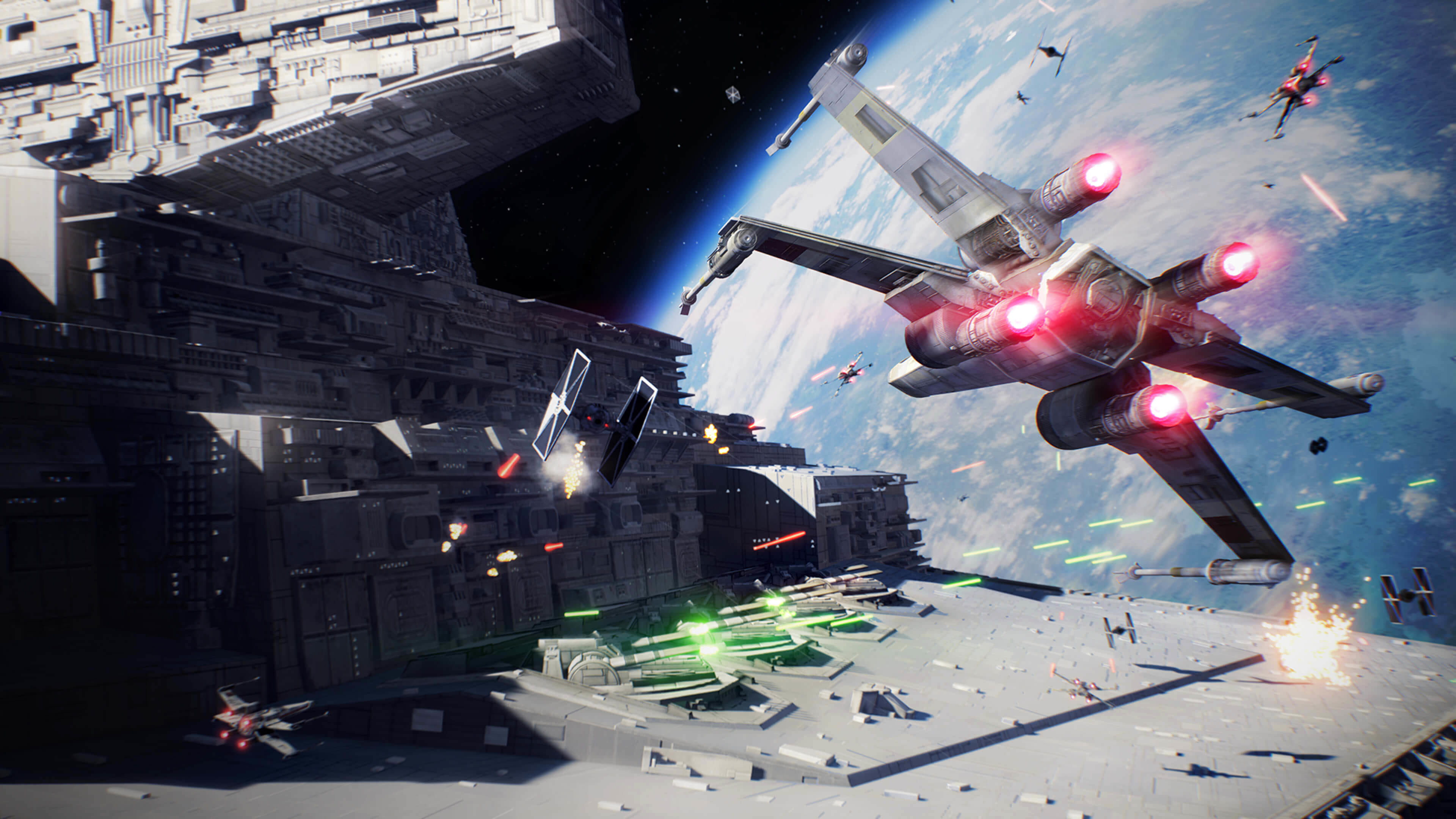Star Wars Space Battle Wallpaper 61 images 3840x2160