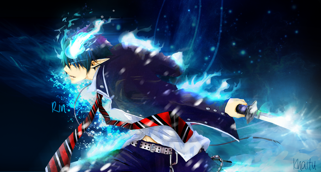 epic blue exorcist wallpaper - photo #5