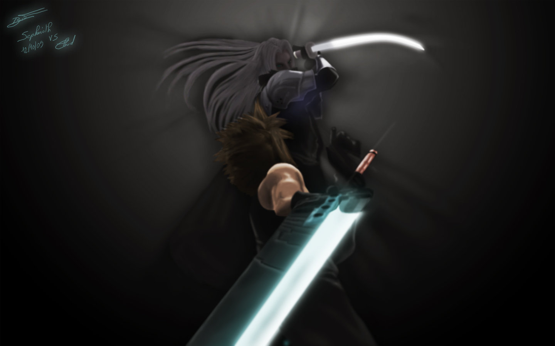 Cloud Sephiroth 1440x900