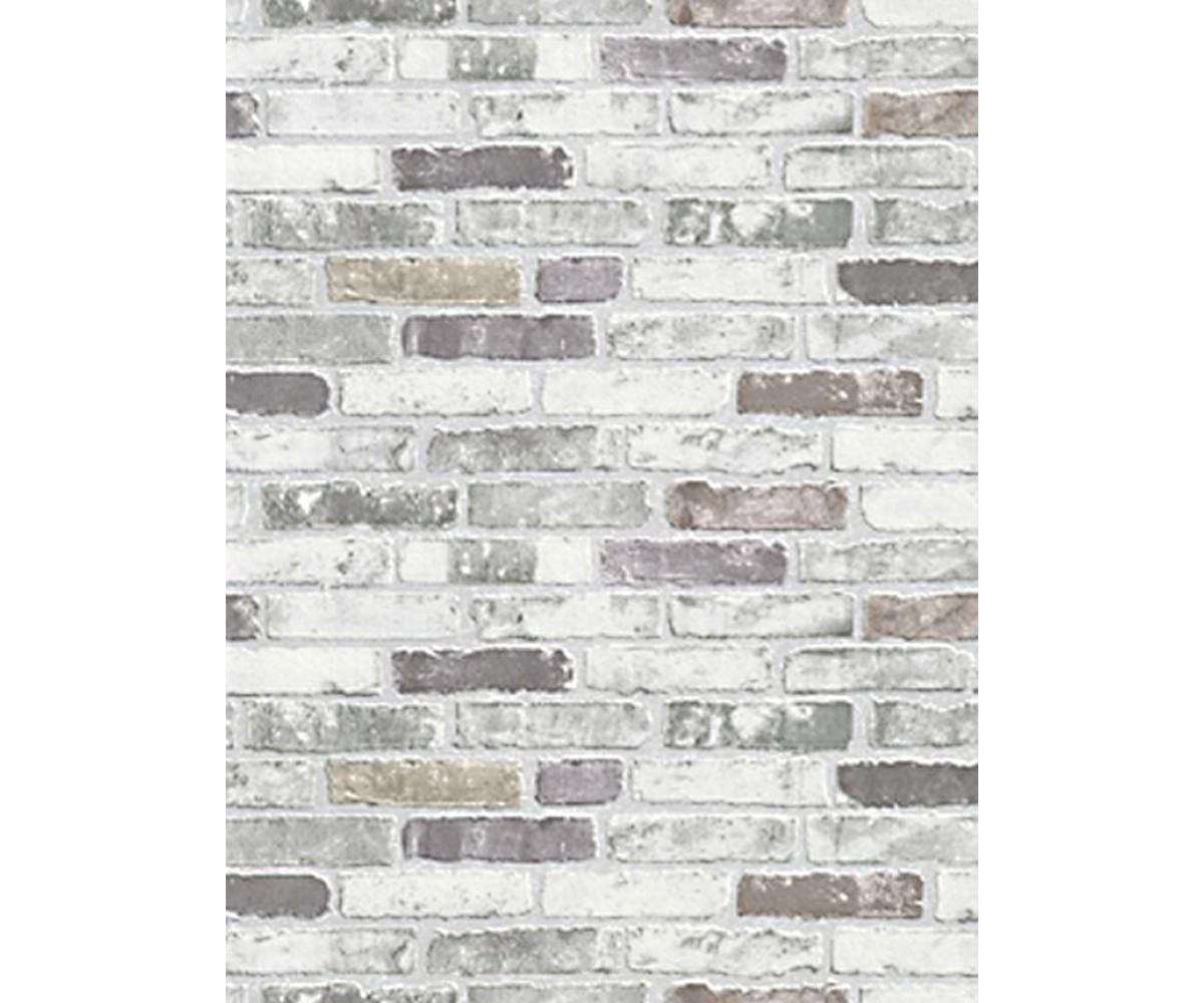 White Grey Brick Wallpaper 1200x1000