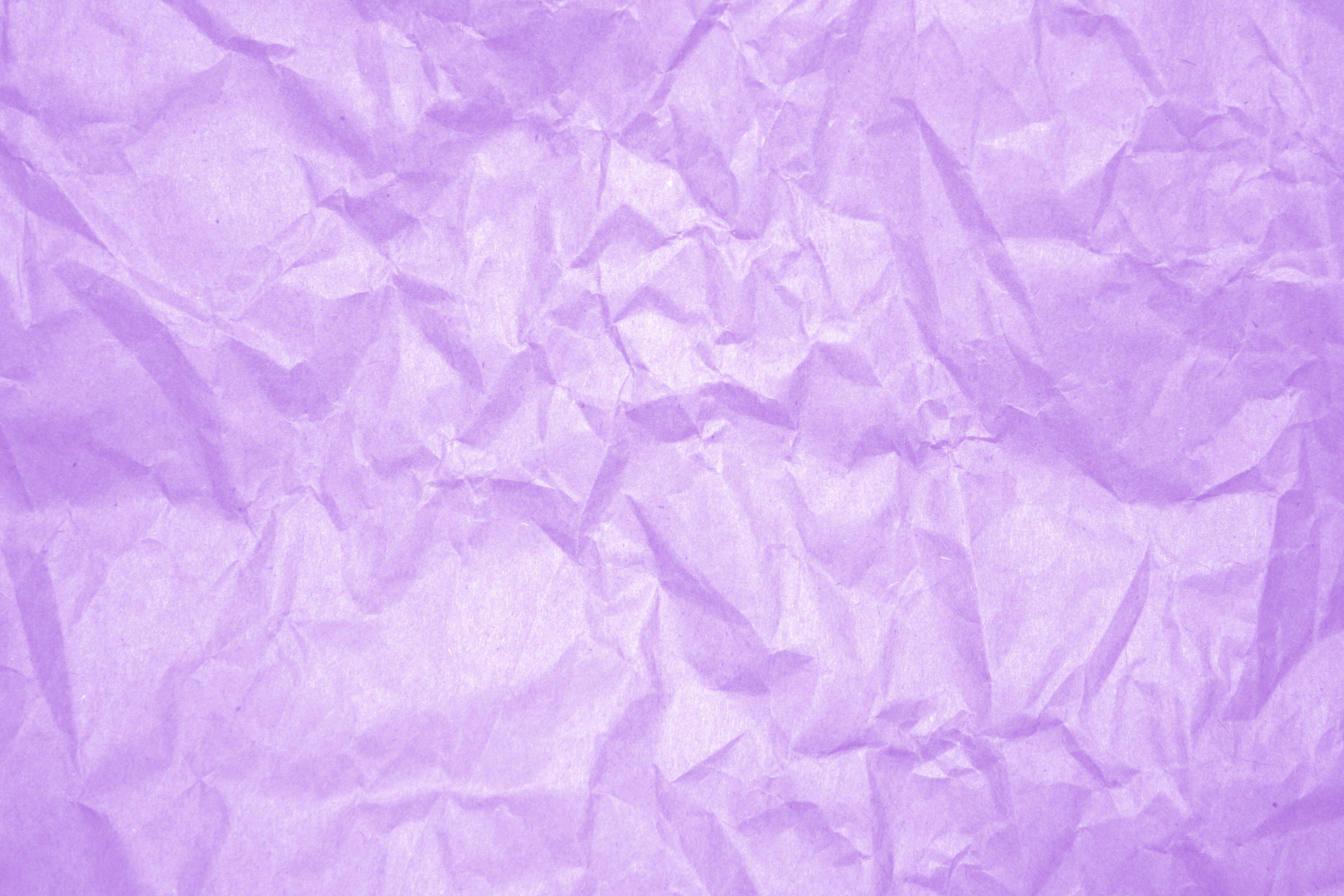 Crumpled Lavender Paper Texture Picture Photograph Photos 3888x2592
