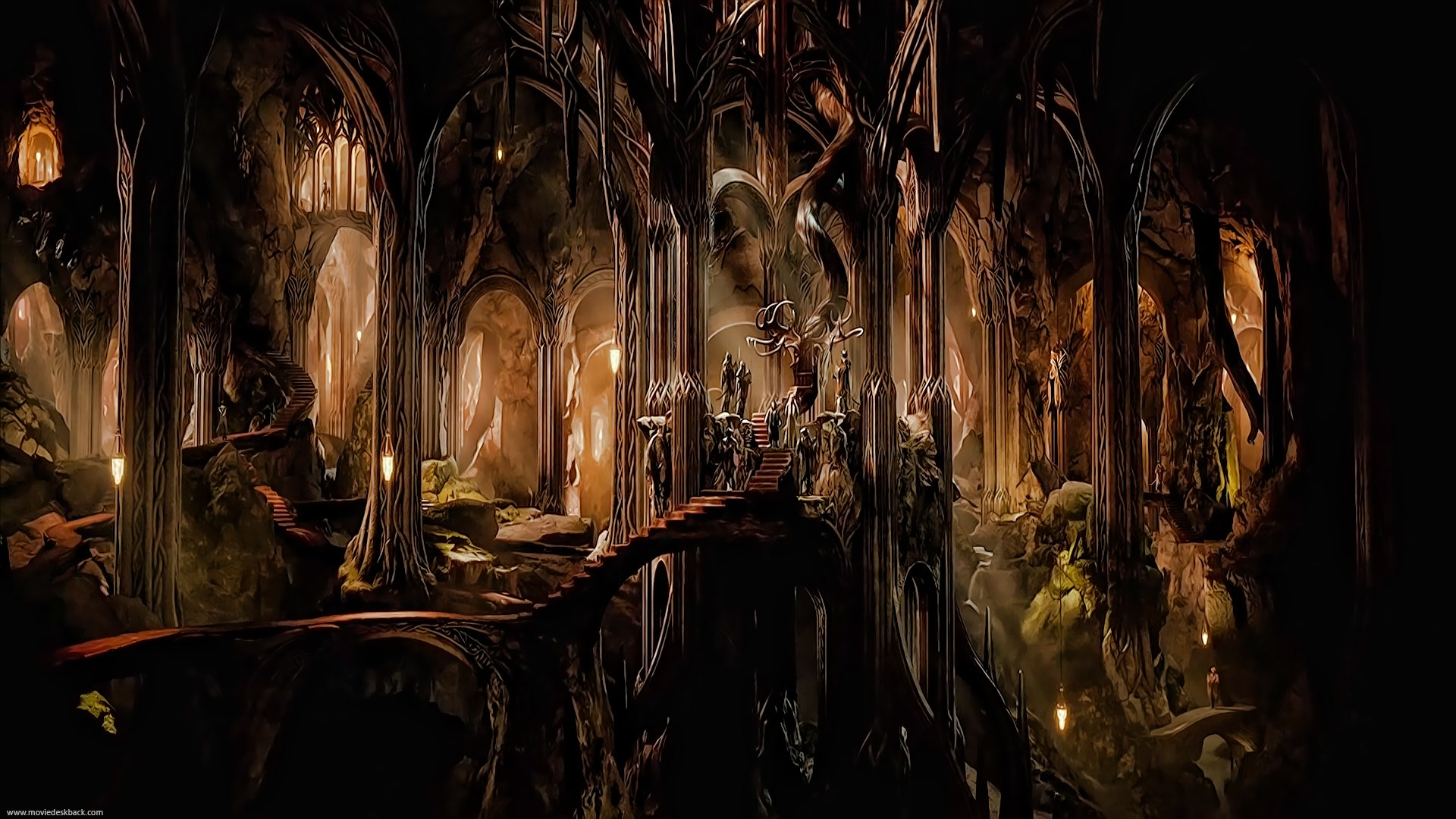 Mirkwood Wood elf Realm   Fantasy and Magical Stuff   Pinterest