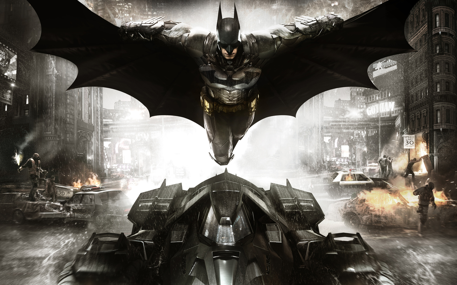 Batman Arkham Knight Wallpaper HD   Select Game 1920x1200