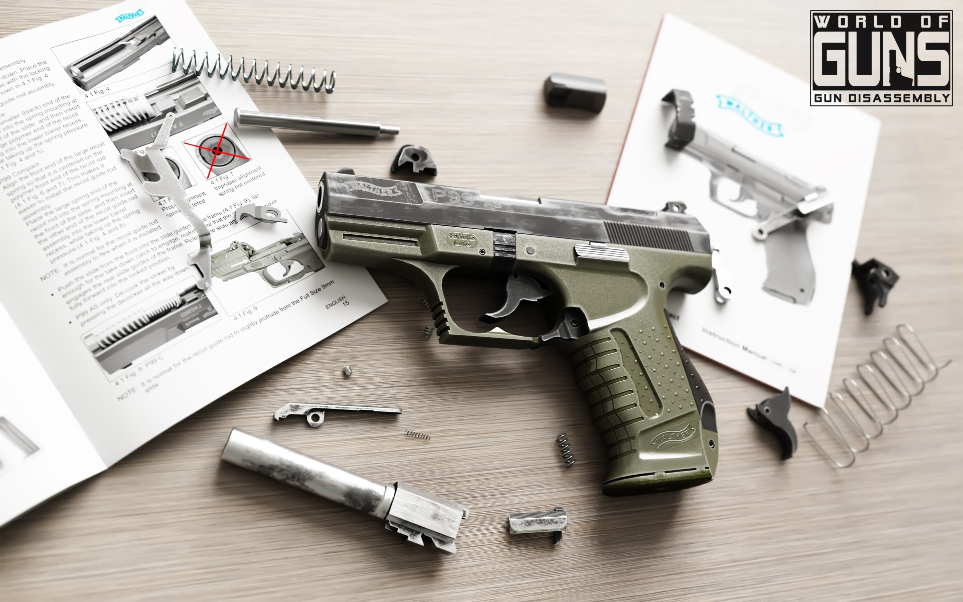 Walther P99 WOG wallpapers 1920x1200