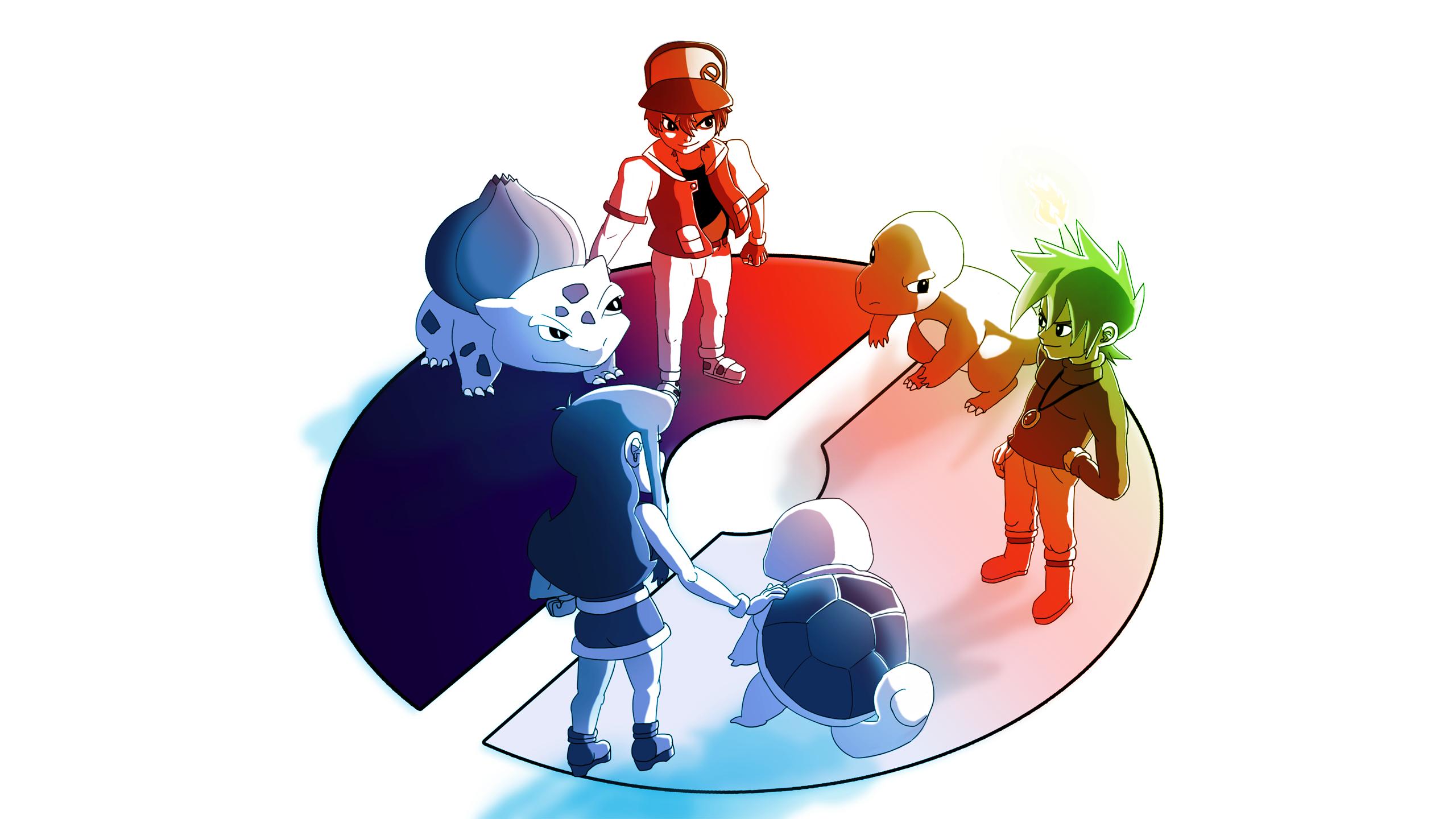 Pokemon Trainer Wallpapers 2560x1440