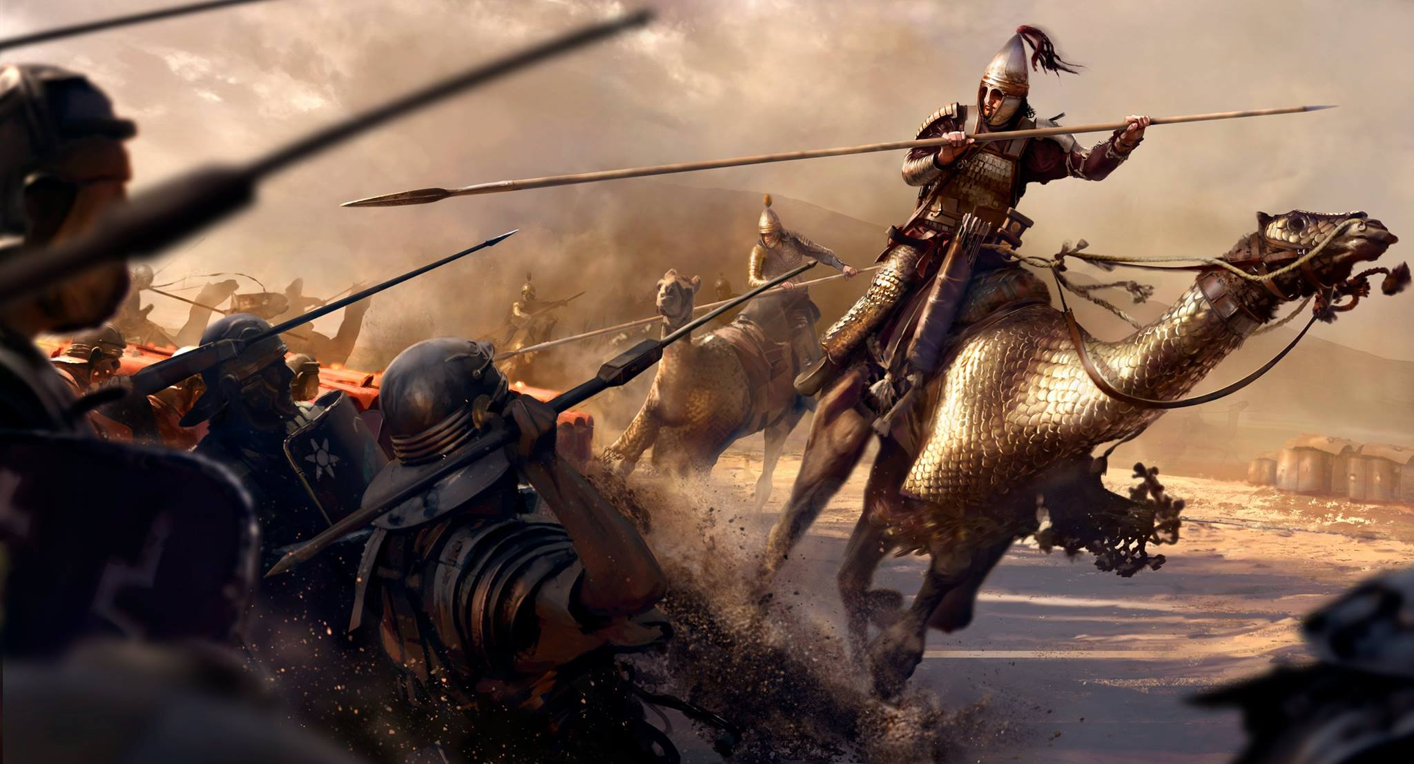 and Sega have released the latest DLC pack for Total Rome Rome 2 2048x1107