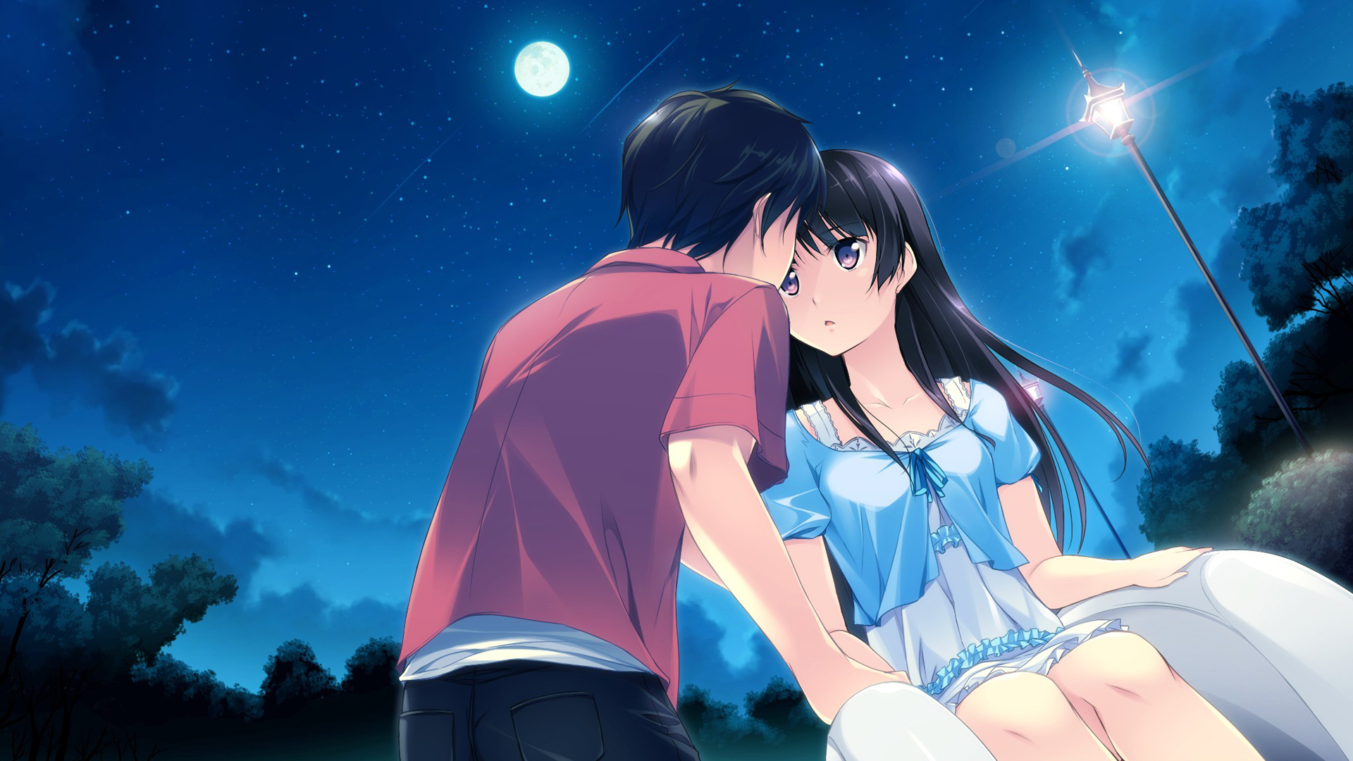 Anime Images Wallpaper Love Couples Couple Hd Wallpaper: HD Wallpaper Love Couple 1920x1080