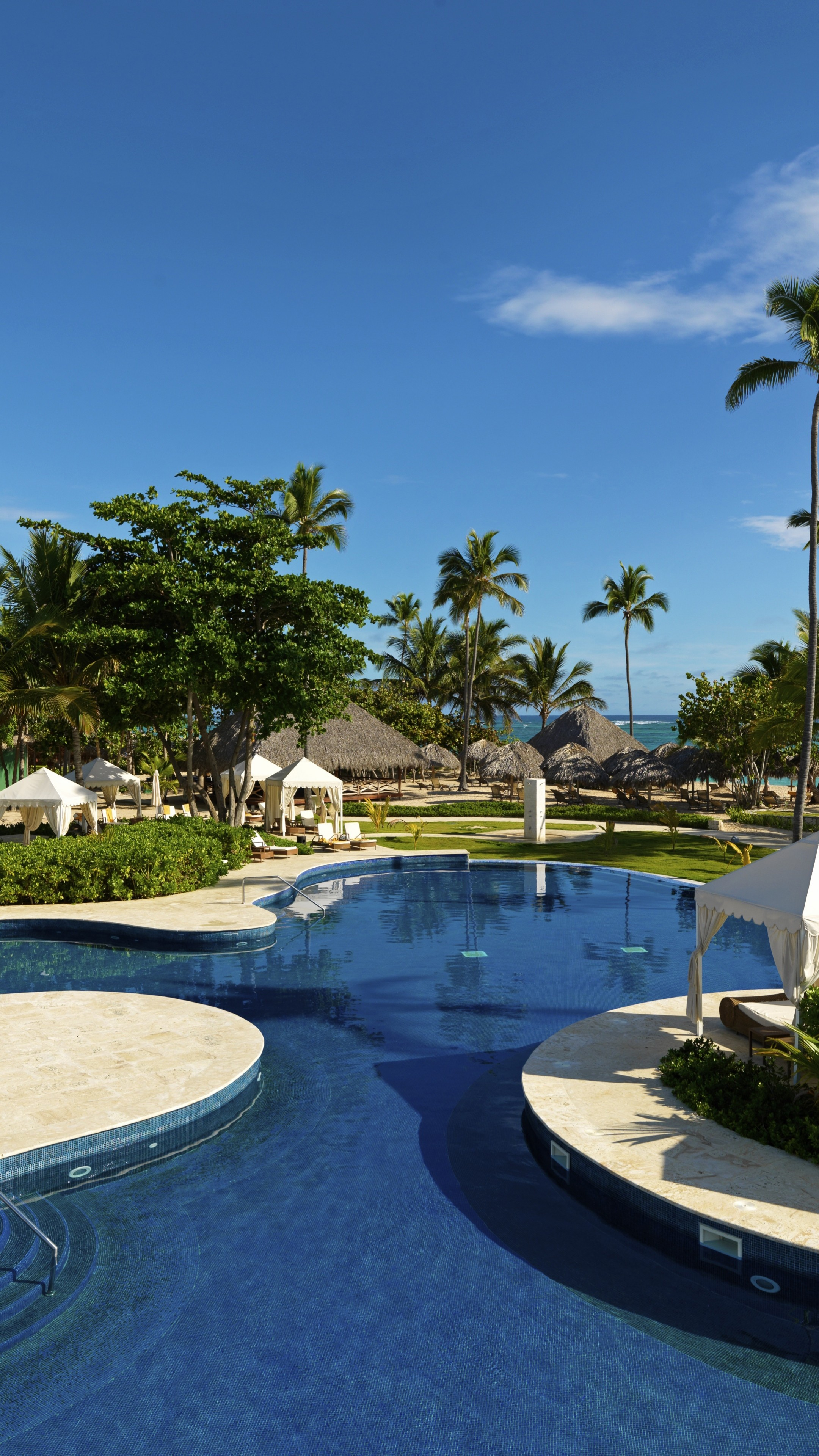 Wallpaper Beachfront Real Estate Dominicana Best Hotels of 2017 2160x3840