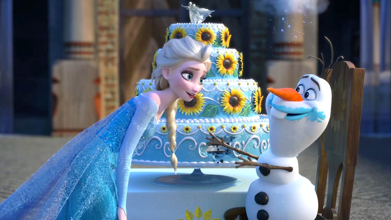 Frozen fever olaf wallpapers full hd wallpapers for 1080p 1366x768