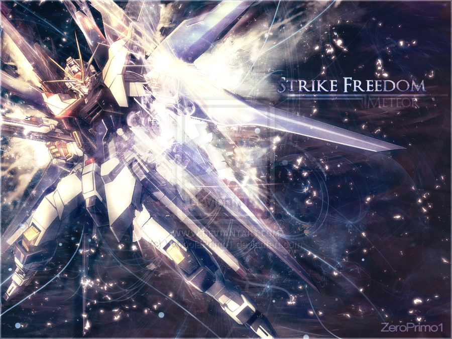 Strike Freedom Meteor by VongolaPrimo1 900x675