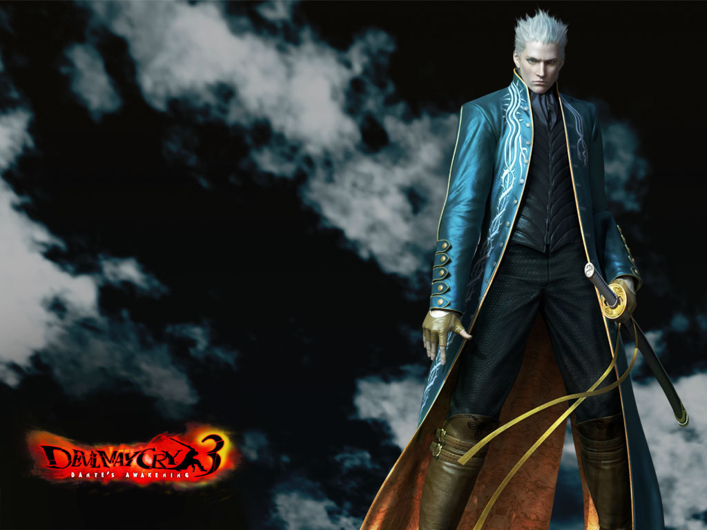 Devil May Cry 3 images Vergil  Devil May Cry 3 HD wallpaper and 1024x768